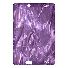 Crumpled Foil Lilac Kindle Fire HD (2013) Hardshell Case