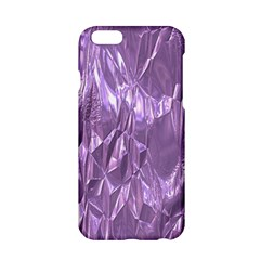 Crumpled Foil Lilac Apple iPhone 6/6S Hardshell Case