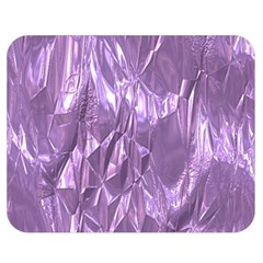 Crumpled Foil Lilac Double Sided Flano Blanket (medium)