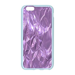 Crumpled Foil Lilac Apple Seamless iPhone 6/6S Case (Color)
