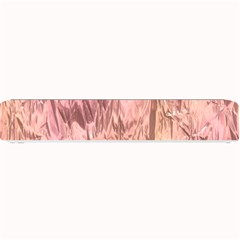 Crumpled Foil Pink Small Bar Mats