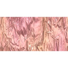 Crumpled Foil Pink YOU ARE INVITED 3D Greeting Card (8x4)