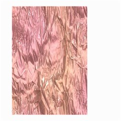 Crumpled Foil Pink Small Garden Flag (two Sides)
