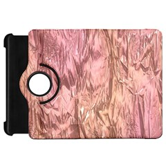 Crumpled Foil Pink Kindle Fire HD Flip 360 Case