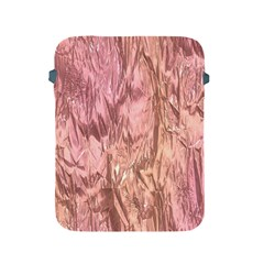 Crumpled Foil Pink Apple iPad 2/3/4 Protective Soft Cases