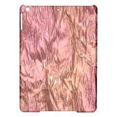 Crumpled Foil Pink iPad Air Hardshell Cases