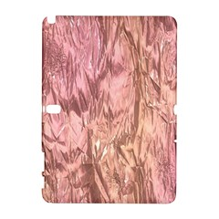Crumpled Foil Pink Samsung Galaxy Note 10.1 (P600) Hardshell Case