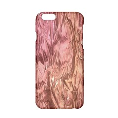 Crumpled Foil Pink Apple iPhone 6/6S Hardshell Case