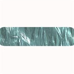 Crumpled Foil Teal Large Bar Mats
