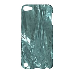 Crumpled Foil Teal Apple iPod Touch 5 Hardshell Case