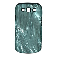 Crumpled Foil Teal Samsung Galaxy S III Classic Hardshell Case (PC+Silicone)