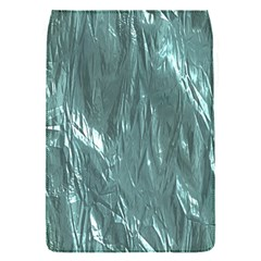 Crumpled Foil Teal Flap Covers (S)