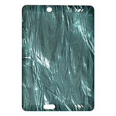 Crumpled Foil Teal Kindle Fire HD (2013) Hardshell Case