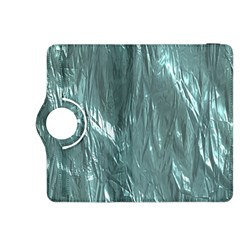 Crumpled Foil Teal Kindle Fire HDX 8.9  Flip 360 Case