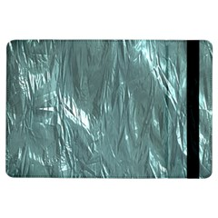 Crumpled Foil Teal iPad Air Flip