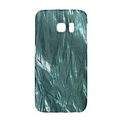 Crumpled Foil Teal Galaxy S6 Edge