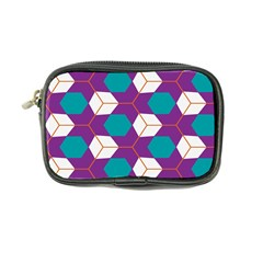 Cubes in honeycomb pattern Coin Purse