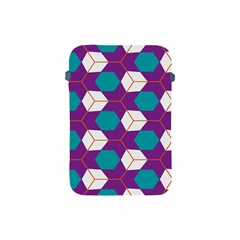 Cubes in honeycomb pattern Apple iPad Mini Protective Soft Case