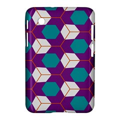 Cubes in honeycomb pattern Samsung Galaxy Tab 2 (7 ) P3100 Hardshell Case