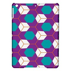 Cubes in honeycomb pattern Apple iPad Air Hardshell Case