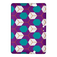 Cubes in honeycomb pattern	Kindle Fire HDX 8.9  Hardshell Case