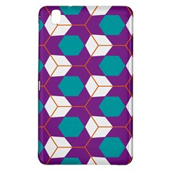 Cubes in honeycomb patternSamsung Galaxy Tab Pro 8.4 Hardshell Case
