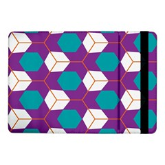 Cubes in honeycomb patternSamsung Galaxy Tab Pro 10.1  Flip Case