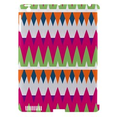 Chevron pattern Apple iPad 3/4 Hardshell Case (Compatible with Smart Cover)