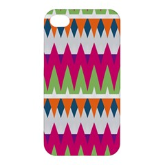 Chevron pattern Apple iPhone 4/4S Premium Hardshell Case