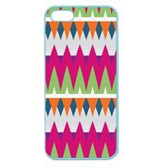 Chevron pattern Apple Seamless iPhone 5 Case (Color)