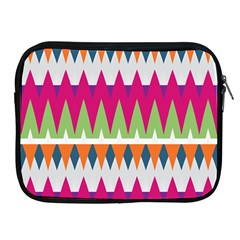 Chevron pattern Apple iPad 2/3/4 Zipper Case