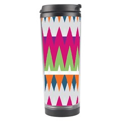 Chevron pattern Travel Tumbler