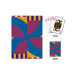 Blue flower Playing Cards (Mini)