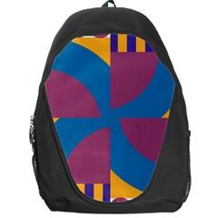Blue flower Backpack Bag