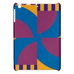 Blue flower Apple iPad Mini Hardshell Case