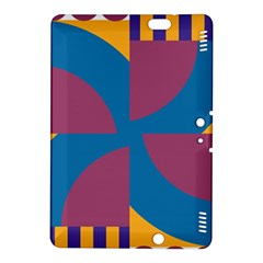 Blue flower Kindle Fire HDX 8.9  Hardshell Case