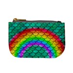 Rainbow Scales Coin Change Purse Front