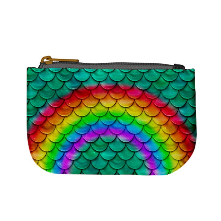 Rainbow Scales Coin Change Purse