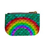 Rainbow Scales Coin Change Purse Back