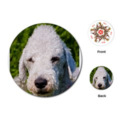 Bedlington Terrier Playing Cards (Round)