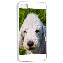 Bedlington Terrier Apple iPhone 4/4s Seamless Case (White)
