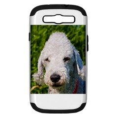 Bedlington Terrier Samsung Galaxy S III Hardshell Case (PC+Silicone)
