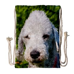 Bedlington Terrier Drawstring Bag (Large)