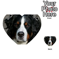 Bernese Mountain Dog Playing Cards 54 (Heart)