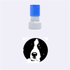 Bernese Mountain Dog Rubber Round Stamps (Small)