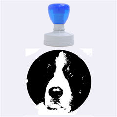 Bernese Mountain Dog Rubber Round Stamps (Large)