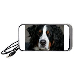 Bernese Mountain Dog Portable Speaker (black)