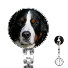 Bernese Mountain Dog Stainless Steel Nurses Watches