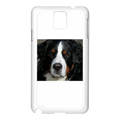 Bernese Mountain Dog Samsung Galaxy Note 3 N9005 Case (White)
