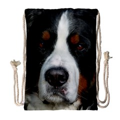 Bernese Mountain Dog Drawstring Bag (Large)